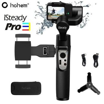 Hohem iSteady Pro 3 Splash Proof 3-Axis Handheld Gimbal Stabilizer for GoPro Hero 8/7/6 DJI Osmo RX0 Action Camera Pro 2 Upgrade