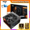 Aigo gp650 max 850W masaüstü güç kaynağı PSU PFC sessiz Fan ATX 24pin 12V 80 artı bronz PC bilgisayar SATA oyun PC güç kaynağı