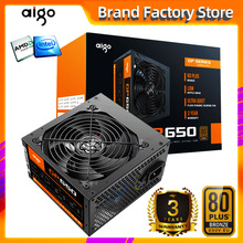 Aigo gp650 max 850W Alimentation Pour Ordinateur De Bureau Alimentation PFC SILENCIEUX VENTILATEUR ATX 24pin 12V 80PLUS bronze PC ordinateur SATA Gaming PC Alimentation