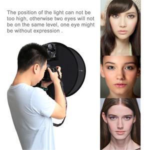 Image 5 - PULUZ difusor de luz de Flash para estudio fotográfico, difusor de luz de Flash redondo Macro y retrato Speedlight 45cm