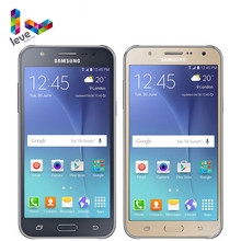 Original desbloqueado samsung galaxy j5 SM-J500F duplo sim telefone móvel 1.5gb ram 16gb rom 5.0