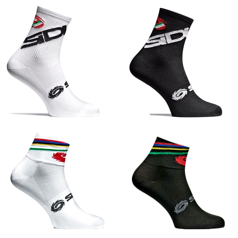 New Bike Socks Bicycle Men Women Professional Brand Sport Socks Protect Feet Breathable Wicking Cycling Socks