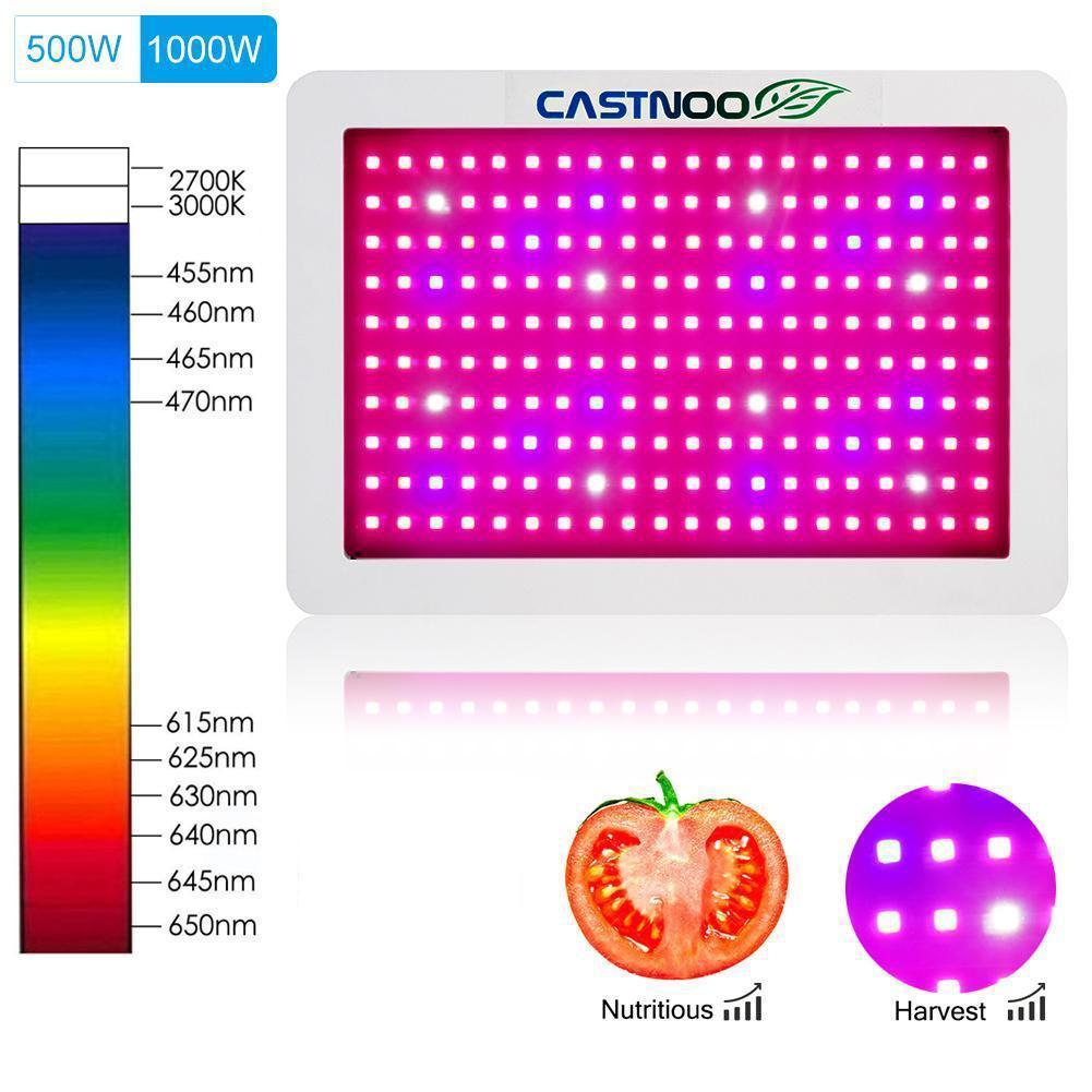 1000W Full Spectrum LED Grow Light Kit For Medical Plants Veg Bloom Indoor