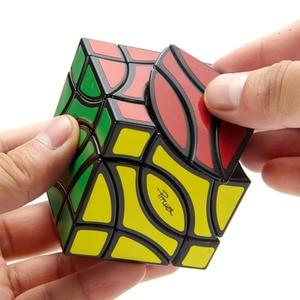 Image 4 - LanLan Pesci 4 Angolo Cubo Magico Due Pesci Professionale Neo di Velocità Di trasporto Puzzle Antistress Giocattoli Educativi Per I Bambini