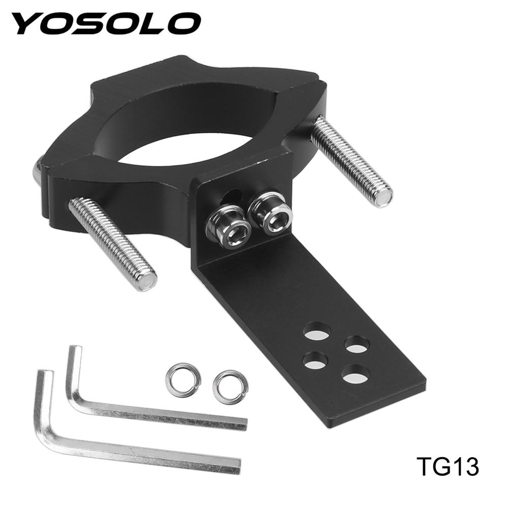 YOSOLO TG11/TG13 Universal Mount Adjustable Clamp Motorcycle Headlight Bracket Motorcycle Accessories Spotlight Holder