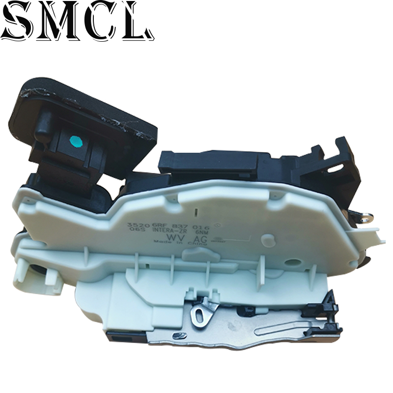 Door <font><b>Lock</b></font> Latch Actuator Front Right for VW Santana Jetta Yeti <font><b>Sharan</b></font> Fox Golf 5K1837016C 6RF837016A 5K2837016C/A image