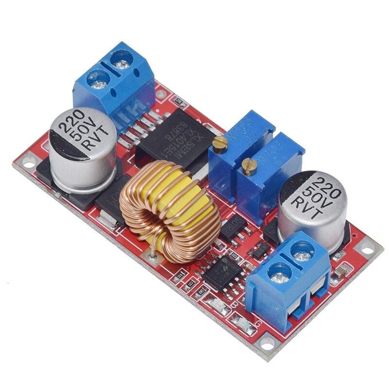 5A DC-DC CC CV понижающий Регулируемый литиевый аккумулятор зарядное устройство плата DC понижающий источник питания XL4015 8-36V до 1,25-32 V DIY