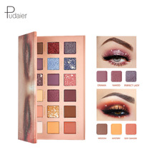 Makeup Box Set Eye Shadow Pallete Glitter Professional Colored Smoky  Eye Shadow 15 colors Eyeshadow Palette Single Eyeshadow бур sds max metabo 623131000 35 x 570 мм