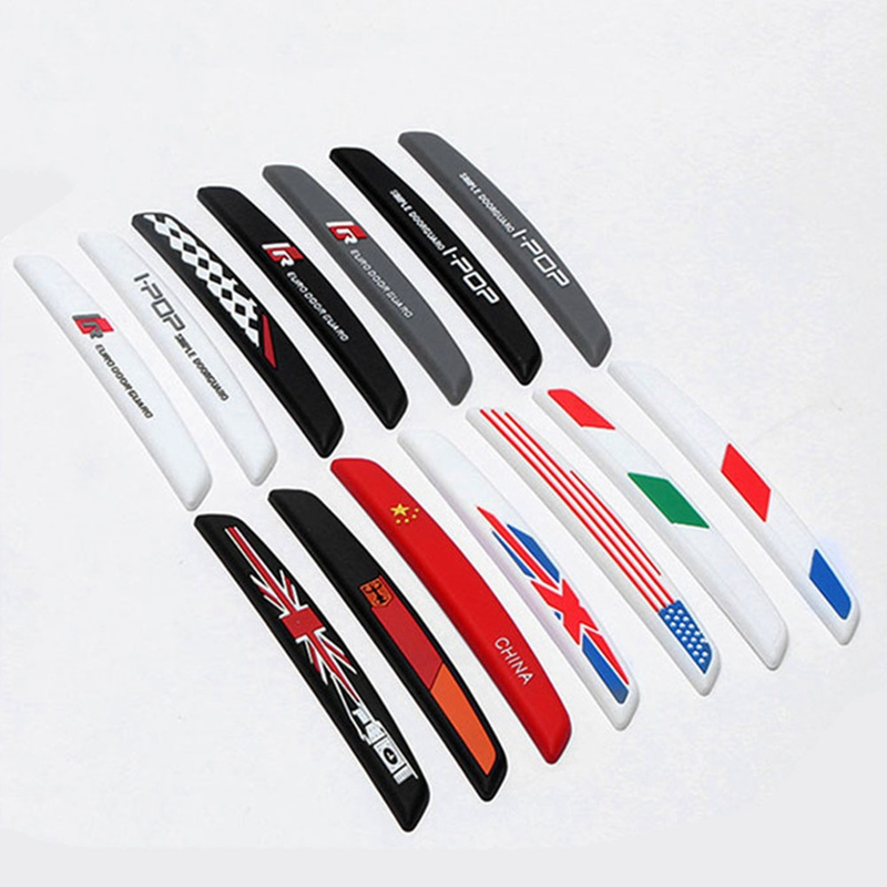 6Pcs/Set Auto Car Door Guard Edge Corner Protector Guards Buffer Trim Molding Protection Strip Scratch Protector Car Door Crash-in Styling Mouldings from Automobiles & Motorcycles
