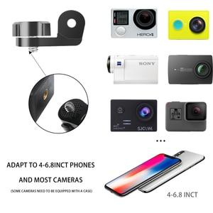 Image 4 - Ngoài trời băng Giá Đỡ Cho Điện Thoại di động tại Dây Dây Đeo Dây Gắn Chân Máy Giá Kẹp cho thay vì GOPRO Xiaoyi Camera ốp lưng iPhone x