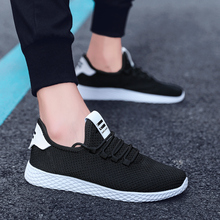 Male Fashion Running Shoes New Style Leisure Hiker Athletic And Outdoor Lithe Ventilation Light Sneakers Big Size Pure Tide D