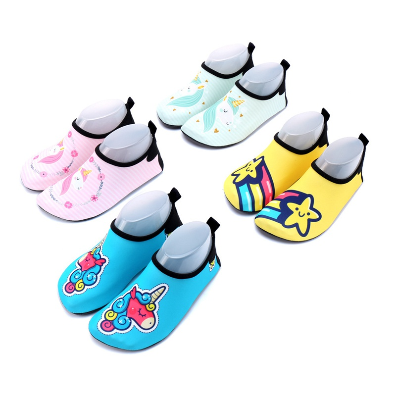 Kids Beach Water Sports Sneakers Children Swimming Aqua Barefoot Shoes Boy Girl Surf Fishing Diving Outdoor Slipper