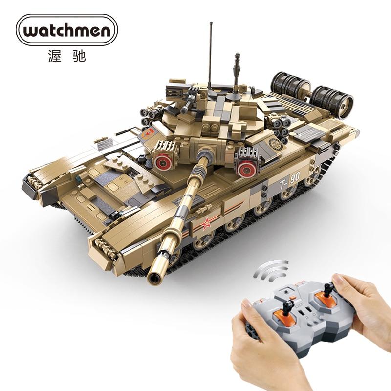 CaDA Technic Bricks T90 TANK 1722PCS Military Chariot Model Building Blocks Car Educational Construction Toys for Boys Children| | - AliExpress