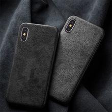 Чехол из итальянской алькантары для iPhone 11 Pro Max 12 Pro 12Mini SE 6 7 8 Plus, замшевый кожаный чехол для iPhone XS Max XR X, задняя крышка
