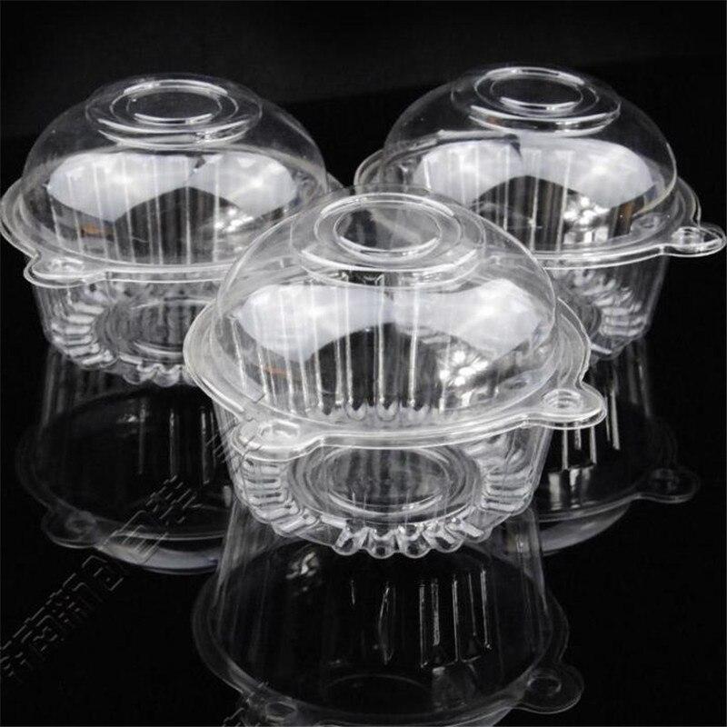 Новая пластиковая миска с кошачьей головкой, коробка для мороженого/шоколада/торта с крышкой, прозрачная коробка для свадебной вечеринки 10,