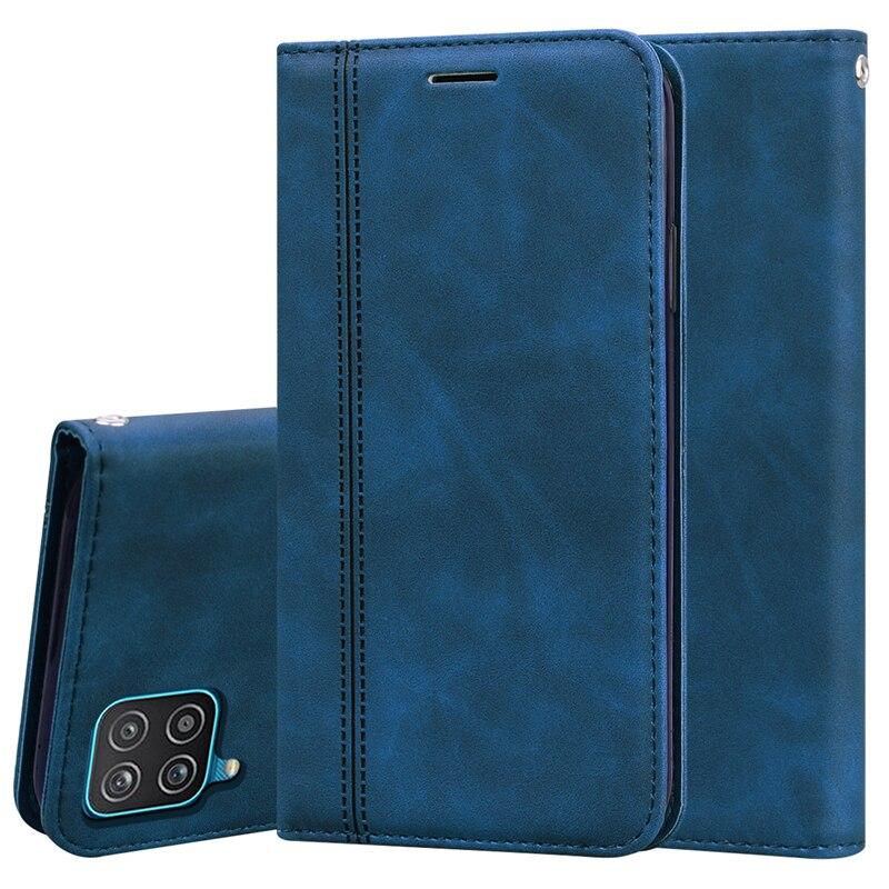 Чехол для Samsung A12, Бампер для Samsung A12, 6,5 дюйма, мягкий силиконовый бумажник, кожаный флип чехол для Samsung A12, чехол для Galaxy A 12, чехлы Бамперы      АлиЭкспресс