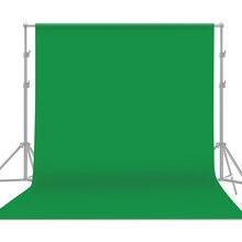 2020New Professionalสีเขียวฉากหลังสตูดิโอถ่ายภาพพื้นหลังทำความสะอาดได้ผ้าฝ้ายโพลีเอสเตอร์ภาพพื้นหลัง