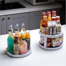 Shelf Tray-Rack Closet-Organizer Cosmetic-Storage Spices-Bottles Kitchen 360-Rotating