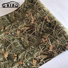 ORINO Film Für Verpackung Selbst adhesive Realtree Pistole Wrap Camo REALTREE Vinyl Film Mit Luftblase Frei Auto Aufkleber aufkleber