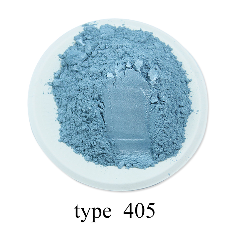 Pearl Powder Healthy Natural Mineral Mica Powder DIY Dye Colorant Dust for Soap Automotive Art Crafts Eye Shadow 50g Type 405