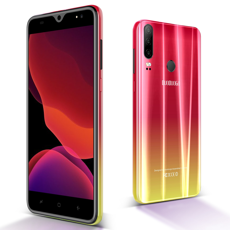 DUODUOGO P30 Mobile Phone Android 9.0 3GB RAM 32GB ROM 13MP+5MP 5.5