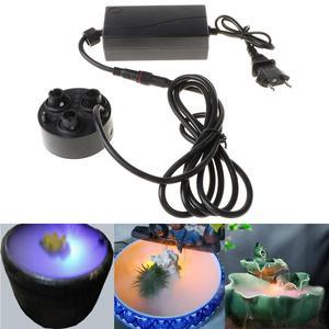 Image 1 - 3 kafa Mist Maker Atomizer ultrasonik hava nemlendirici sisleyici nebulizatör ab tak