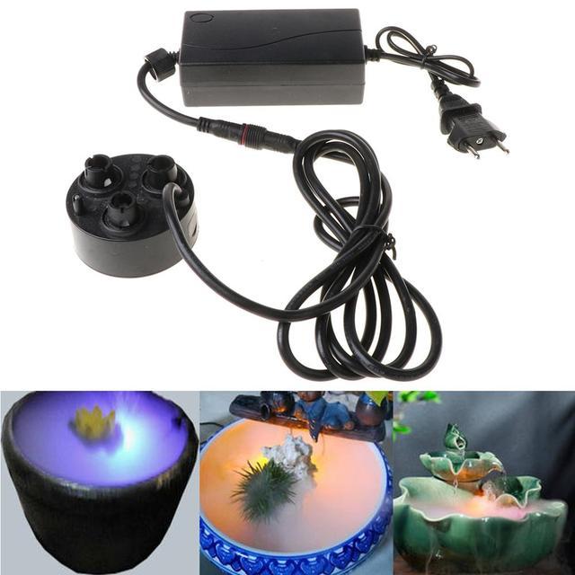 3 kafa Mist Maker Atomizer ultrasonik hava nemlendirici sisleyici nebulizatör ab tak