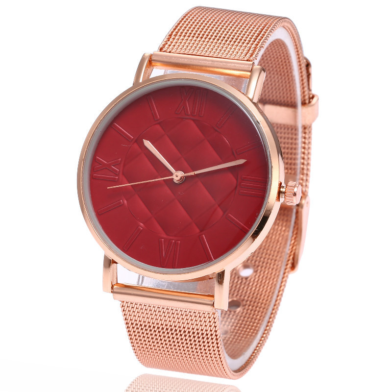 Ms Hot Style Bracelet Wrist Wrist Expression Couple Calibration Plate Of Costly Quartz Performance Goods Personality