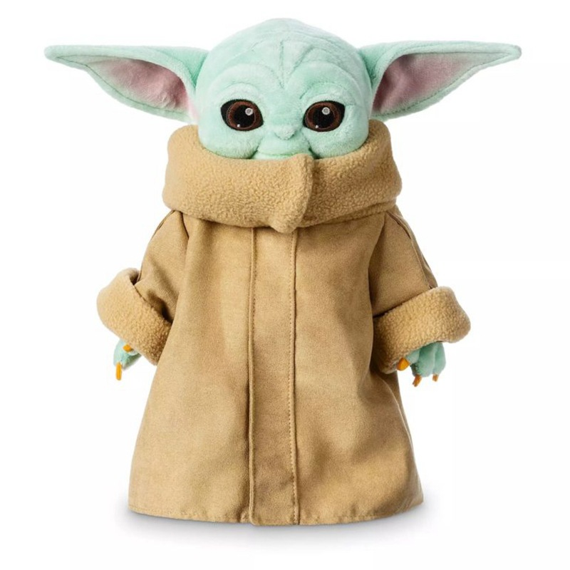 15cm/30cm Baby Yoda Plush Toys Soft Stuffed Animal Doll Keychain Pendants For Kid Birthday Gift