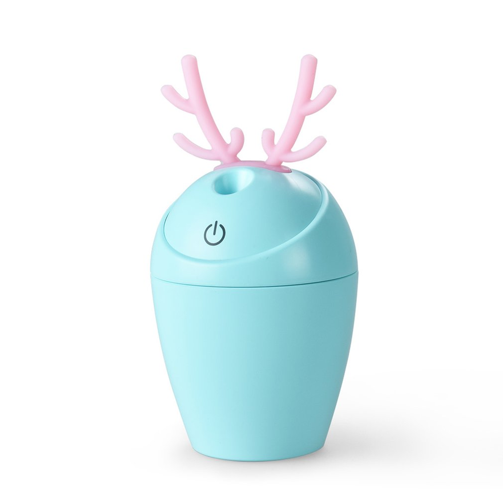 Ultrasonic Cartoon Rabbit Shape Humidifier Air Humidifier Aroma Essential Oil Diffuser Aromatherapy for Office SPA