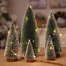 Рождественская елка arbol de navidad Новогодняя Мини Рождественская елка маленькая сосновая елка adornos de navidad настольный мини Рождественский Декор