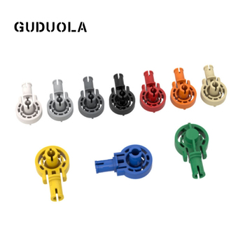 Guduola Technic Click Rotation Bushing with Two Pins (47455) Special Bricks Building Block MOC Education Toys 30pcs/LOT