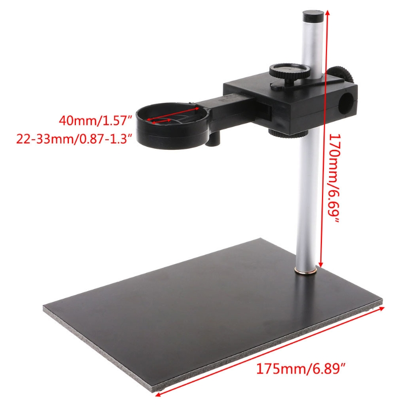 Universal Digital USB Microscope Holder Stand Support Bracket Adjust Up And Down 94PC
