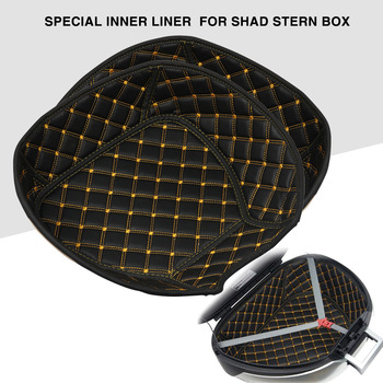 Dla SHAD SH26 SH29 SH33 SH34 SH39 SH40 SH45 SH48 SH59X skrzynia bagażnika Liner pojemnik na bagaże wewnętrzny pojemnik ogon skrzynia bagażnika torba tanie i dobre opinie 30cm Elastic sponge Kask Torby 0 25kg Helmet Bags 25cm 400g Compressible Vcoros