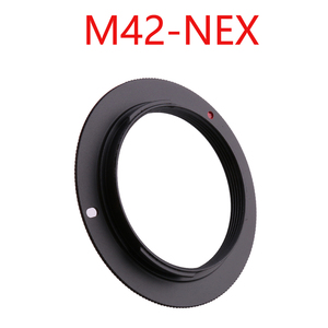 Image 5 - 10 sztuk/partia dla M42 EOS M42 AI M42 AF M42 PK M42 NEX aluminium M42 śruba do mocowania obiektywu adapter do canona Nikon Sony pentax camera obiektyw