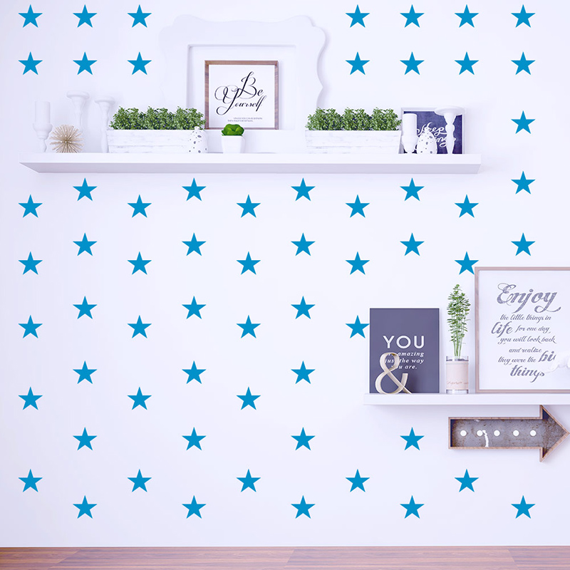 Baby Nursery Bedroom Stars Vinyl Wall Sticker For Kids Room Home Decoration Children Wall Decal Art Kids Wall Stickers Wallpaper