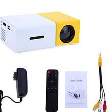 dropshipping service brand new high quality home theater YG-300 mini projector   320 x 240 Pixel  free shippingto Russian buyer