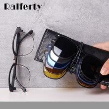 Ralferty Magnet Sonnenbrille Männer Frauen 2020 Luxus Marke Männlichen Polarisierte UV400 Hohe Qualität 5 in 1 Clip Auf Grad Gläser rahmen