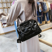 2019 Large Capacity Women Bags Shoulder Tote Bag soft PU Motorcycle Messenger bags casual handbags Top-handle bags Sac a main vfemage soft leather bag women handbags large capacity tote bag female shoulder bag ladies top handle messenger bags sac a main