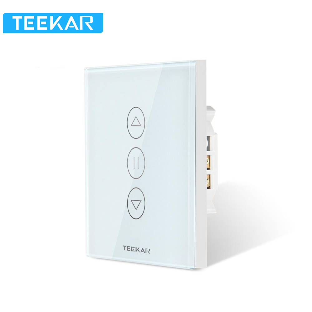 Teekar Smart Life WiFi Shutter Timer Blinds Switch APP Control Blind Motor Alexa WiFi Compatible With Alexa, Echo