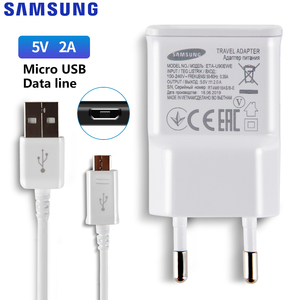 Image 3 - סמסונג המקורי 5V/2A 9V/2A טלפון מטען עבור סמסונג גלקסי S8 S9Plus הערה 9 8 a50 A7 S5Mini S4 S6 S7 סוג C מיקרו USB כבל