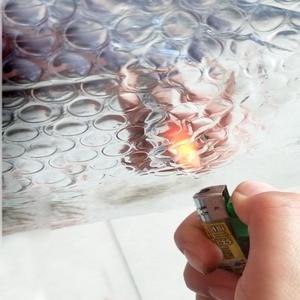 Image 4 - Auto adesivo Bolla Foglio di Alluminio Isolamento termico Pellicola Doppio Viso Materiale di Isolamento per il Tetto e Sala Da Sole 3sqm/lotto