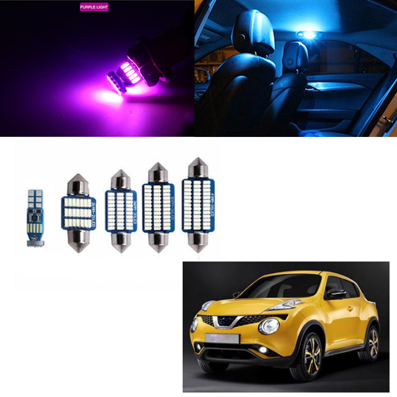2x Fits Nissan Juke F15 Bright Xenon White LED Number Plate Upgrade Light Bulbs
