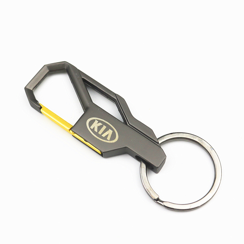 3D Car Keychain Metal Key Holder Logo Car Fashion For KIA K2 K3 K5 K9 Sorento Sportage R Rio Soul Key Chain Ring Accessories