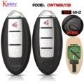 Умный дистанционный Автомобильный ключ kutery для Nissan Tiida Qashqai Teana Xtrail Cube Juke Xterra 315 МГц CWTWBU729 или CWTWBU735