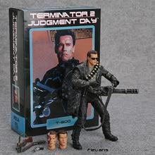 NECA figurine daction Arnold Schwarzenegger en PVC, Terminator 2: jour du jugement, T 800, jouet modèle à collectionner, 7 pouces, 18cm