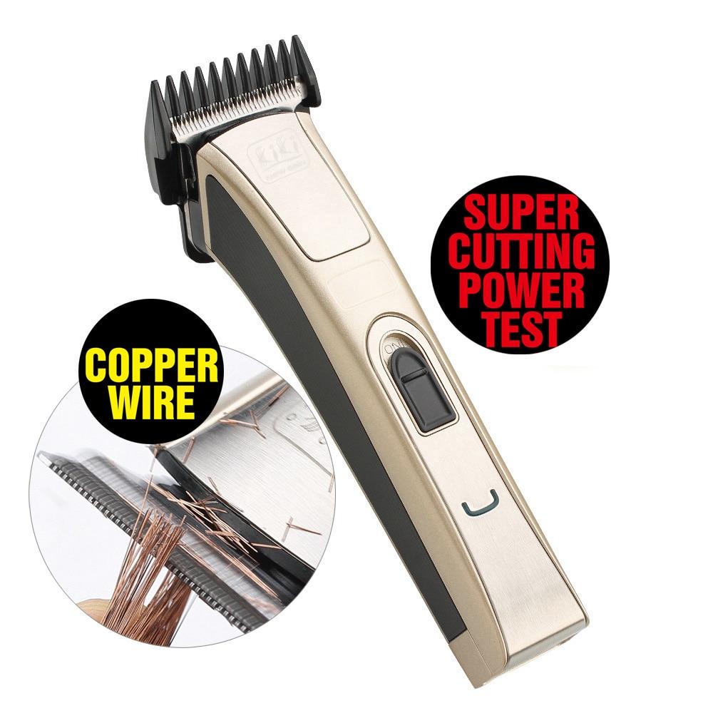 KIKI NEWGAIN Professional Electric Hair Clipper Rechargeable Hair Trimmer Hair Cutting Machine To Haircut Beard Trimer