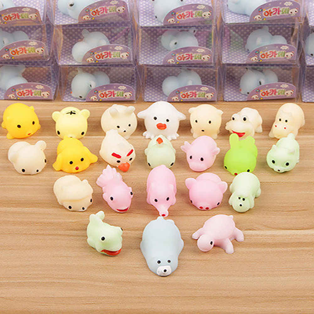Hand-Fidget-Toys Squeeze Gift Mochi Cat Stress Reliever Squishy Antistress Kawaii Toy img4