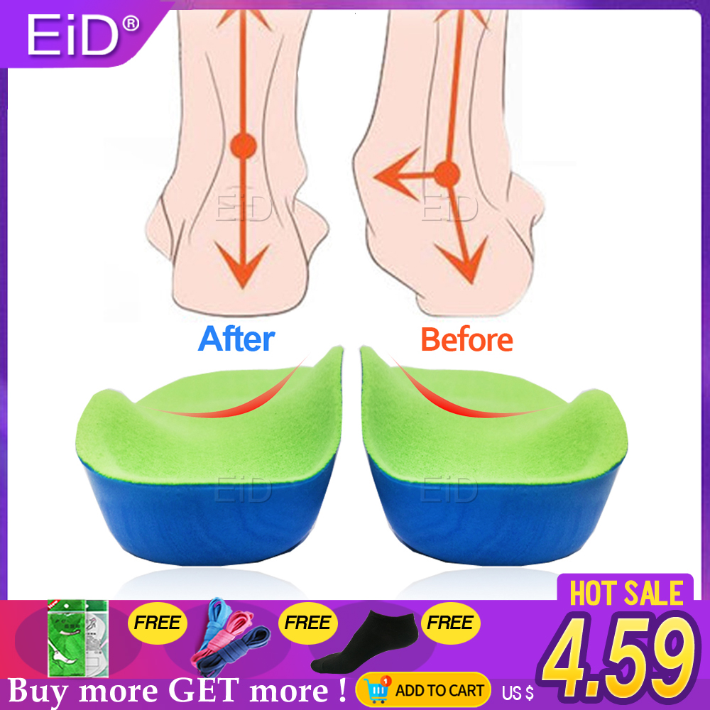 EVA 3D Orthotic Insoles Flat Feet For Kids And Children Arch Support Insole For OX-Legs Child Orthopedic Shoes Foot Care Insert