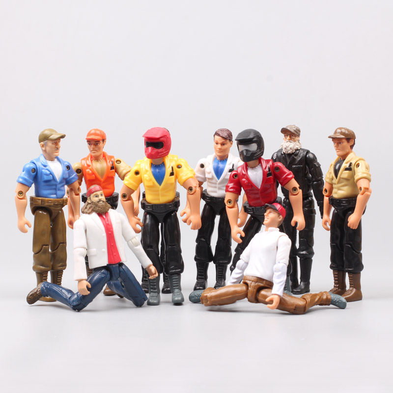 1pcs 1/18 Scale 3.75 Inch Racer Action Figure Moveable Joints For Motorcycle Rider Bike Diecast Toy Vehicles Model Of Collection